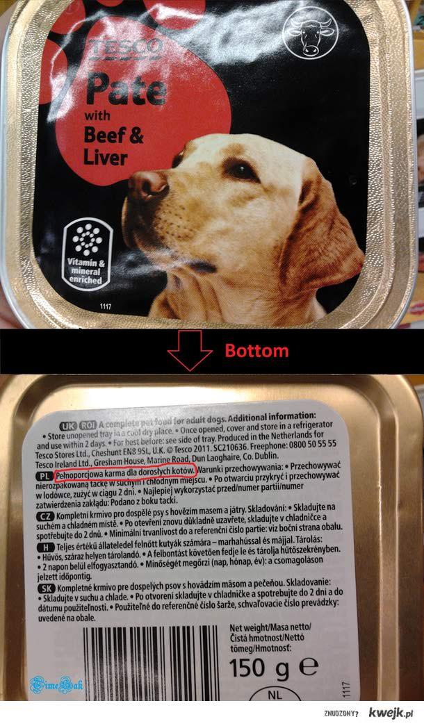 Karma dla psów?