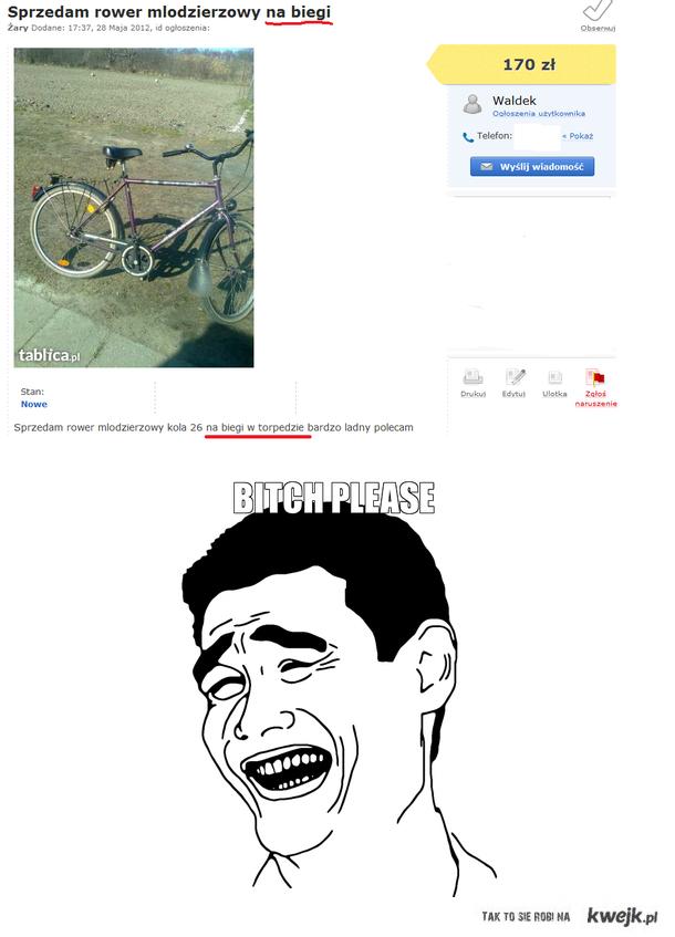 Rower na biegi