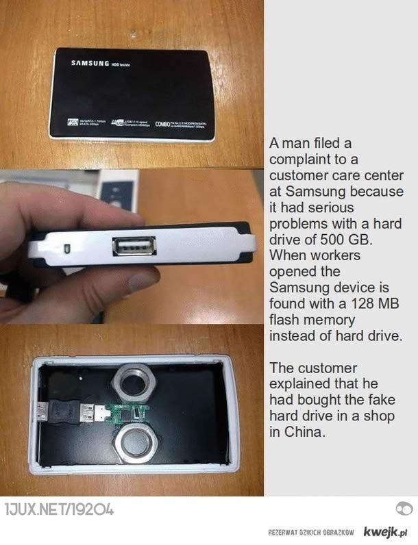 Chinskie produkty