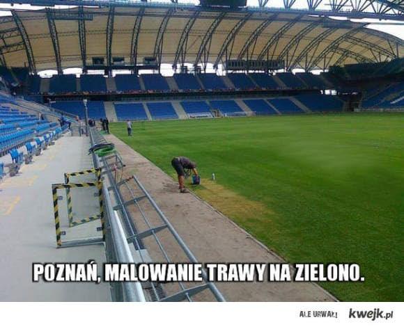 Malowanie trawy w Poznaniu
