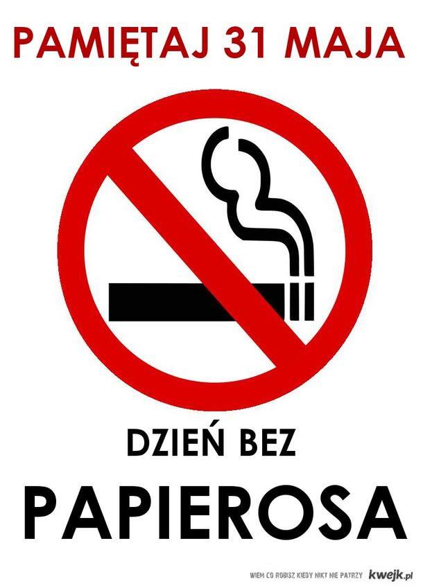 Dzień vez papierosa