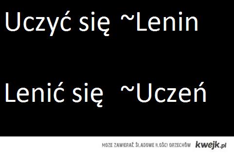 Lenin vs. Uczeń