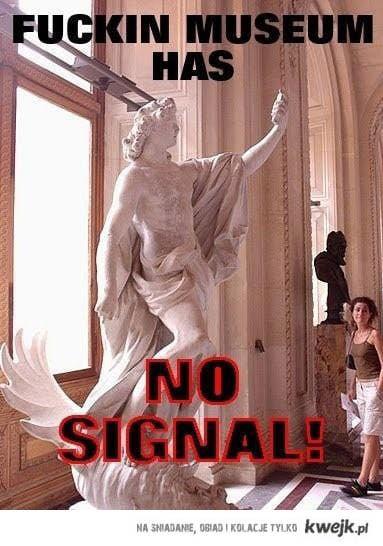 brak sygnału