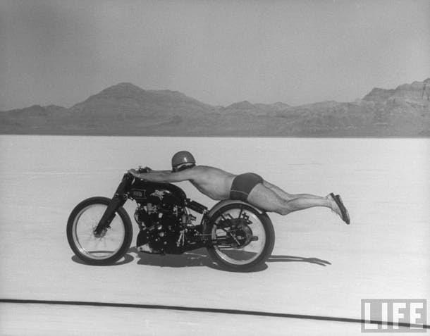 Pokonywanie rekordu prędkości w 1948