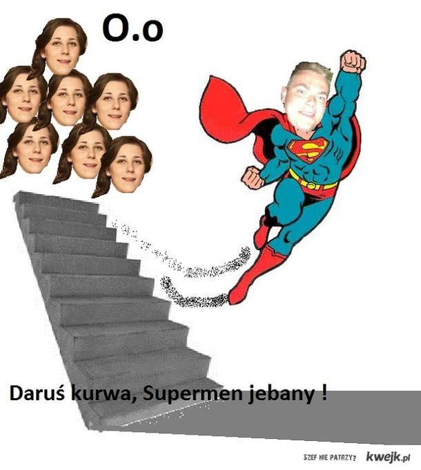 Darkie supermenkie w kościółkiee