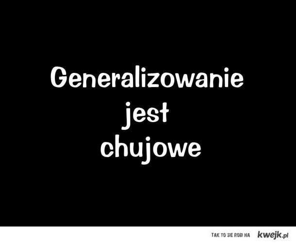 Generalizowanie