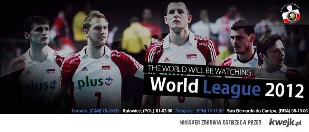 Liga Światowa 2012 ! Katowice , Spodek !