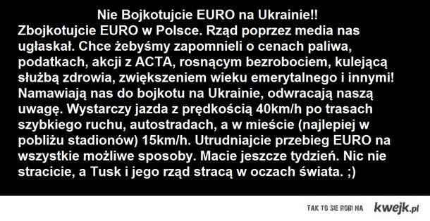 Bojkot Euro w Polsce