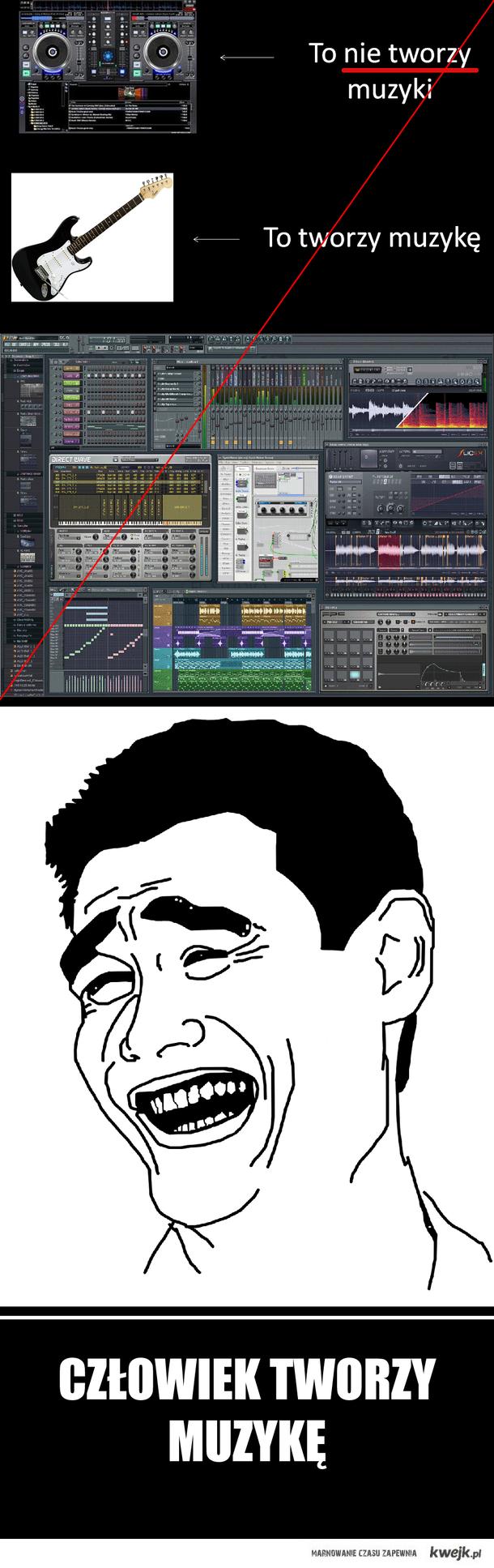 Człowiek tworzy muzykę