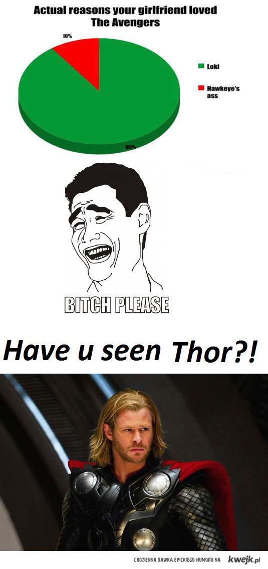have u seen thor?