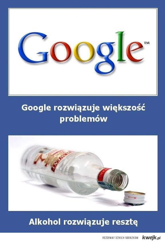 google i wódka