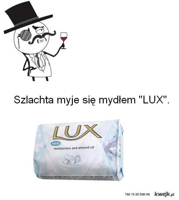 Szlachta Mydło LUX