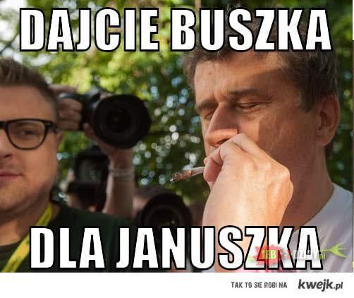 Buszek dla Janszka