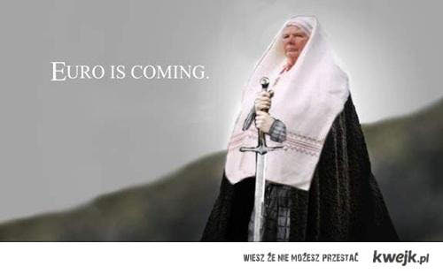 euro is coming