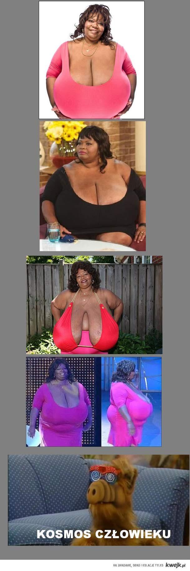 World's biggest boobs
