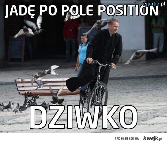 Jadę po pole position