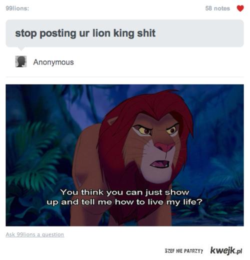 lion king shit