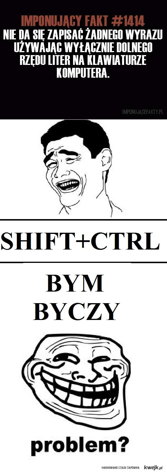 shift+ctrl paradoks