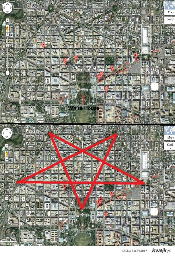 Pentagram w Washington'ie