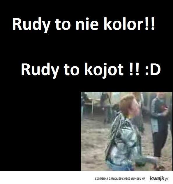 Rudy to nie kolor!
