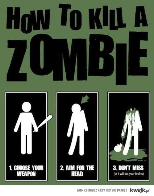 Jak zabić zombie