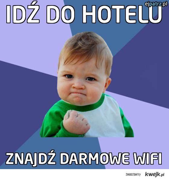 Idź do hotelu