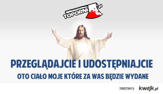 jezus śmieszna reklama
