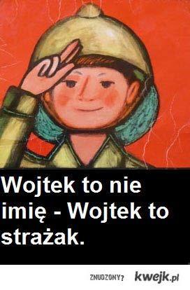 Wojtek...