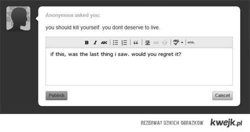 Bad words can kill