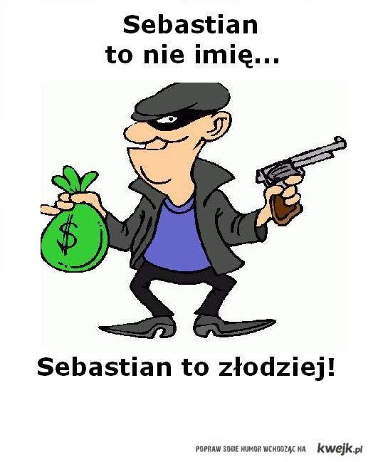 Sebastian złodziej
