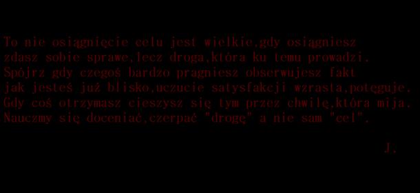 Droga i Cel