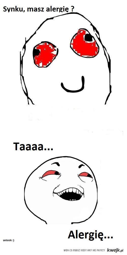 alergia...