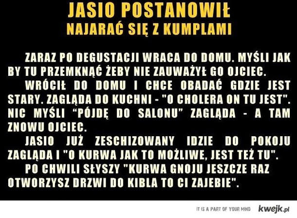 upalony Jasio