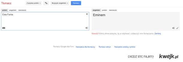 Tłumacz google