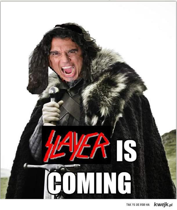 Slayer nadciąga!