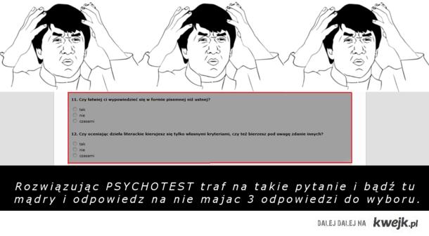 PSYCHOTEST.