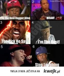Eminem is number one!