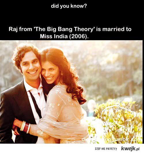 Raj from big bang