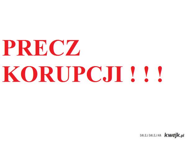 Precz Korupcji