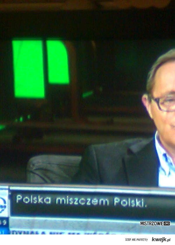 POLSKA MISZCZEM POLSKI