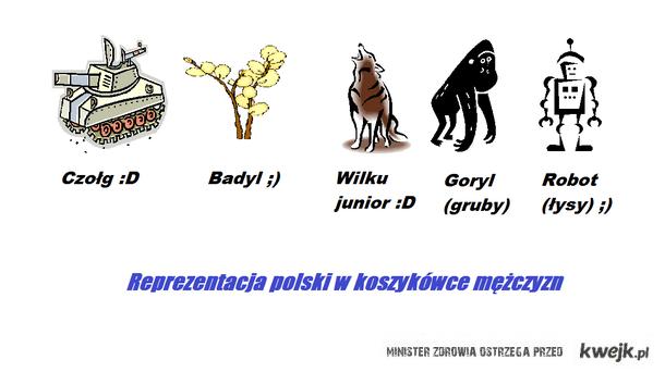nowa piątka kadry polski w koszykówce ;)