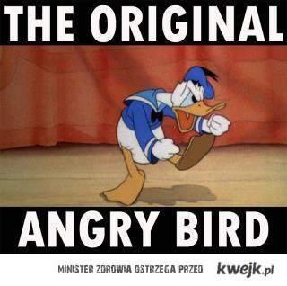 Inspiracja dla Angry Birds