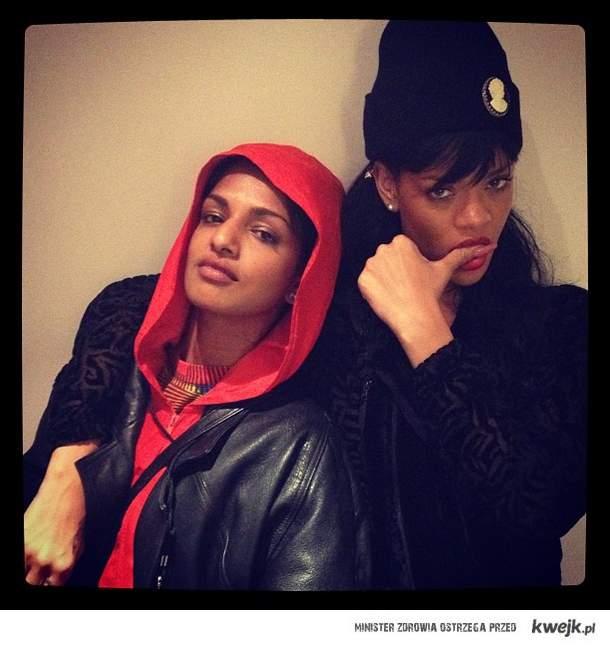 MIA and Riri
