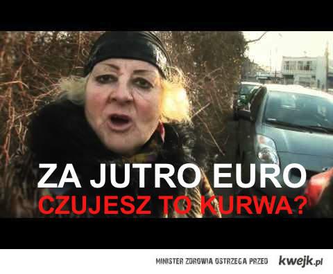 Za jutro Euro