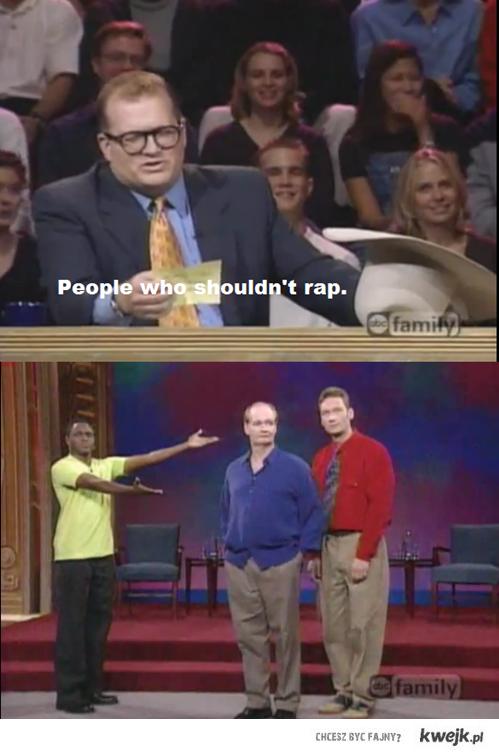 Kto nie powinien rapować?