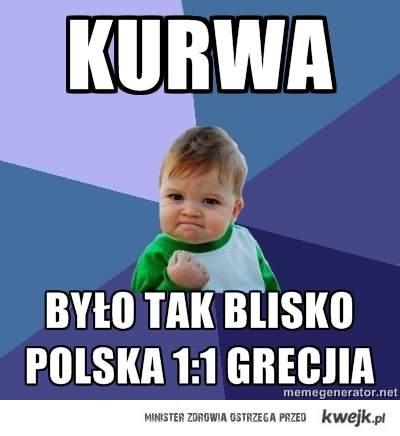 polska 1 :1 grecjia