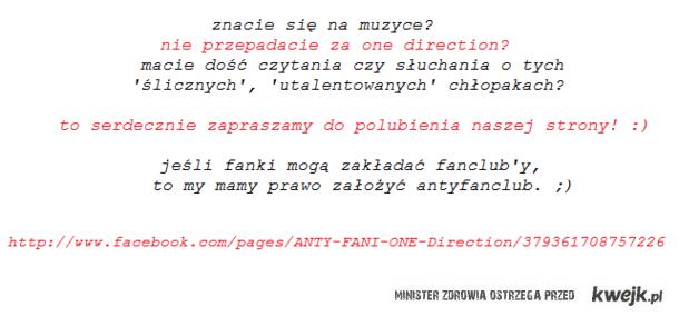 anty fani one direction