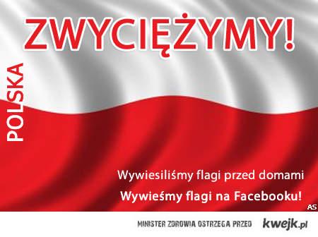 Wywieś flagę na Facebook'u!