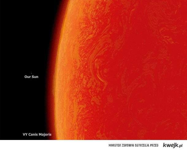 myślisz że słońce jest duże ^^