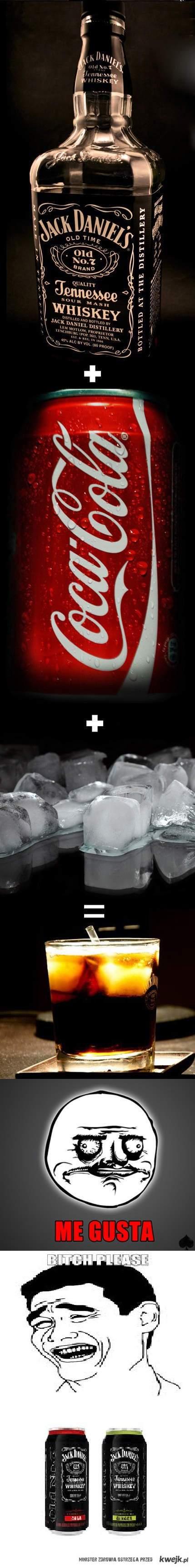 Jack Daniels - Cola